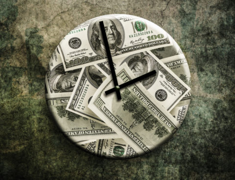 Time is Money Clock | PhloxADR