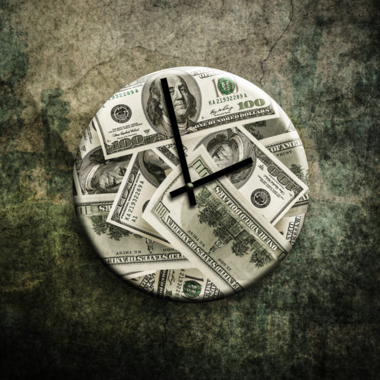 Time is Money Clock | PhloxADR