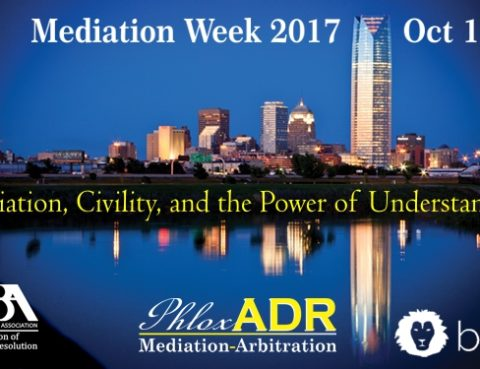 Mediation Week 2017 | PhloxADR