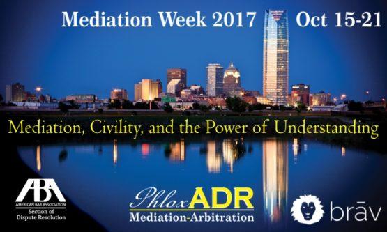 Mediation Week 2017 | PhloxADR