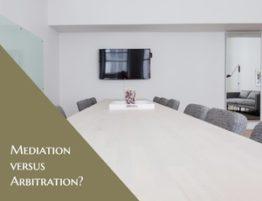 Mediation vs Arbitration | PhloxADR